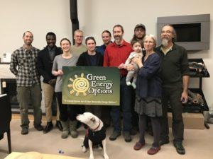 Green Energy Team in Keene